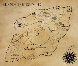 Map of Elenhiise