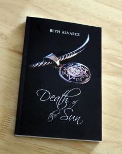 Death of the Sun paperback proof