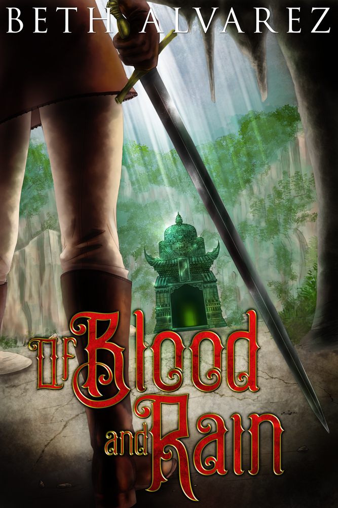 Of Blood and Rain by Beth Alvarez - Cover art by Jose Alvarez