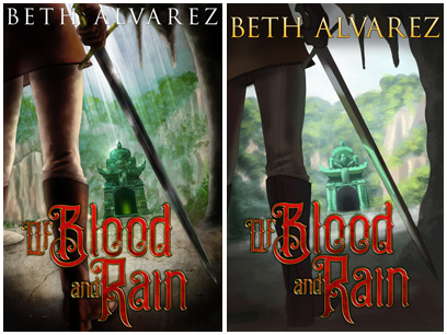 Of Blood and Rain covers, side by side