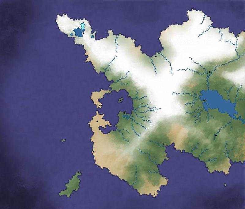 Adding regional location markers