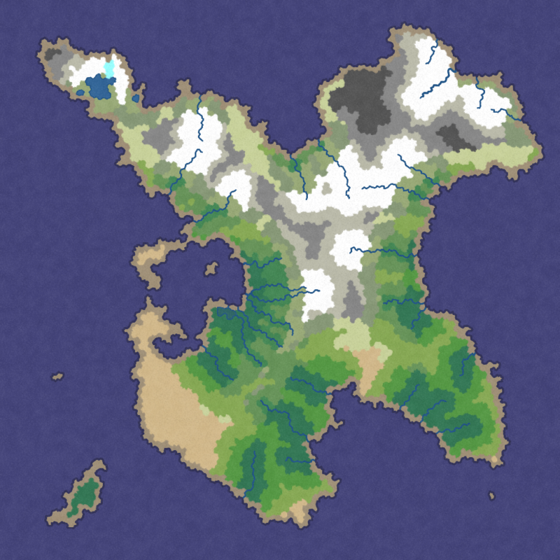 First generated map of Amroch