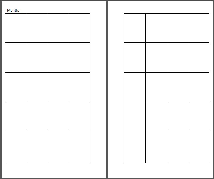 free printable inserts for your recollections planner  u2013 ithilear  u2013 books birthed by dreams
